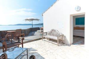 Hotel bord de plage Cala Rossa à Porto Vecchio